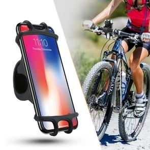 Floveme Universal Bicycle Mobile Phone Holder  Suitable for 4.0-6.3 inch Mobile Phones  For iPhone  Samsung  Huawei  Xiaomi  Lenovo  Sony  HTC and Other Smartphones(Black)