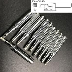 10 PC's 900M - T - 2.4 D midden D Type loodvrij elektrische soldeerbout Tips lassen