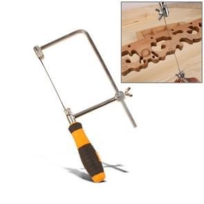 U vormige Hacksaw met messen voor metaal / hout / kunststof buis / draad DIY Hand Tool draagbare houtbewerking zag  breedte: 105mm