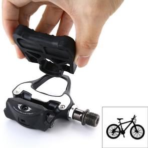 1 racefiets paar KEO vergrendeling fietsen Adapter pedalen (zwart)
