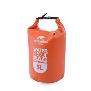 Naturehike 5L Outdoor PVC doek Trekking rivier drijven waterdichte tas ultralichte zwemmen Bag(Orange)