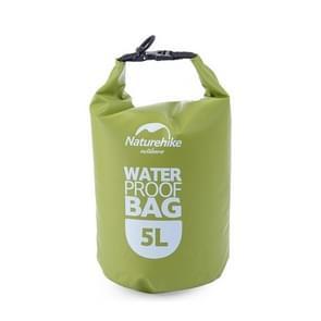 Naturehike 5L Outdoor PVC doek Trekking rivier drijven waterdichte tas ultralichte zwemmen zak (groen)