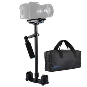 PULUZ S60T 38.5-61cm Koolstofvezel Handheld Stabilisator Steadicam voor DSLR & DV Digitale Video Camera  Draagvermogen: 0.5-3 kg (zwart)