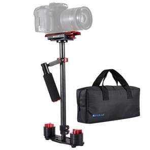 PULUZ S60T 38 5-61cm Carbon Fibre Handheld stabilisator Steadicam voor DSLR & DV-Digitale Video & camera's capaciteit bereik 0.5-3kg(Red)