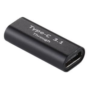 Type-C / USB-C Female to Type-C / USB-C Vrouwelijke Aluminium Aluminium Aluminium Lichtmetalen Adapter