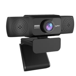 HXSJ S5 1080P Instelbare HD Auto Focus Video Webcam PC Camera met microfoon (zwart)