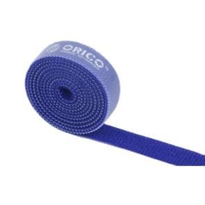ORICO CBT-1S 1m herbruikbare & Dividable haak en lus kabel Ties(Blue)