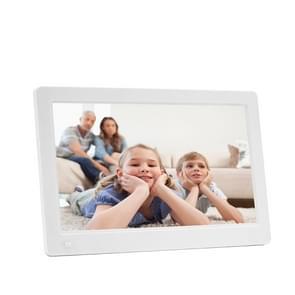Nieuwe 11 6-inch IPS digitale foto Frame beeldvullend 1920 * 1080 elektronische Foto Album reclame Machine(White)