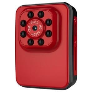 R3 Full HD 1080P-2.0MP-Mini Camcorder actiecamera  120 graden groothoek  ondersteuning van Night Vision / bewegings-Detection(Red)