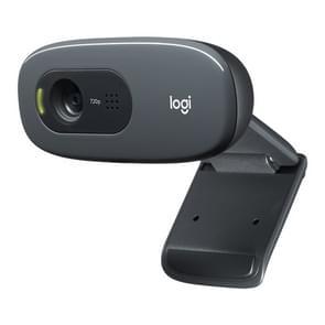 Logitech C270 HD web camera voldoet aan elke behoefte aan HD 720p video-oproepen (zwart)