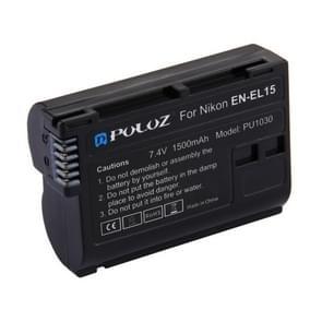 PULUZ nl-EL15 7.4V 1500mAh Lithium-Ion accu voor de Nikon D7500 / D7000 / D800 / D800E / V1 / MB-D11 / MB-D12