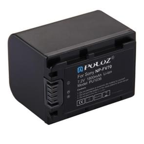 PULUZ NP-FV70 7  2V 1800mAh lithium-IonenBatterij voor Sony NEX-VG30EM / NEX-VG30EH / NEX-VG900E / HDR-CX900E / HDR-CX450 enz.