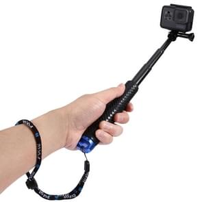 PULUZ handheld verlengbare Monopod / selfiestick voor GoPro HERO (2018) 7 / 6 / 5 / 4 / 3+ / 3 / 2 / 1, Lengte: 19-49cm