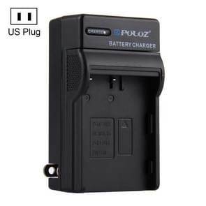 PULUZ batterijoplader voor Nikon EN-EL3 met Amerikaanse stekker / nl-EL3e FUJI FNP150 batterij