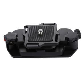 PULUZ vangen Camera Clip aluminiumlegering Afbreekhouder met plaat