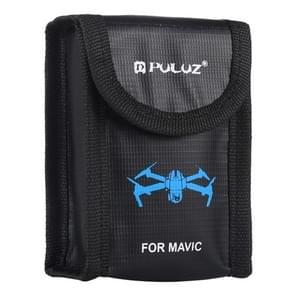 PULUZ Lithium batterij Explosiebestendige veiligheidsbescherming Opbergzakken voor DJI Mavic