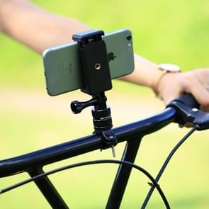 PULUZ Selfie Sticks Tripod Mount Adapter telefoon klem voor GoPro HERO 5 sessie /5 /4 sessie /4 /3+/3 /2 /1  Xiaoyi Sport Camera