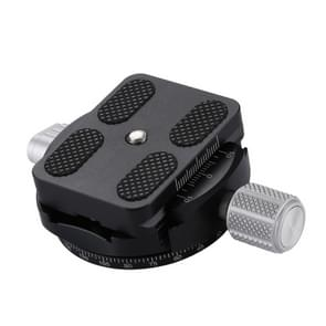 PULUZ Aluminum Alloy Quick Release Plate for Panoramic Head(Grey)
