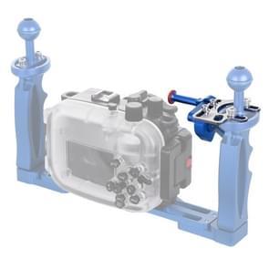 PULUZ sluiter release trigger extension adapter hendel voor onderwater armsysteem (blauw)