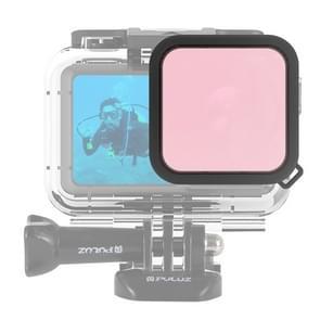 PULUZ Housing Diving Color lens filter voor DJI osmo actie (roze)