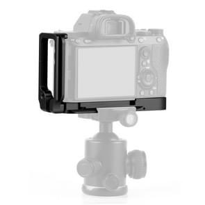 PULUZ 1/4 inch verticale shoot Quick release L plaat beugel Basishouder voor Sony A9 (ILCE-9)/A7 III/A7R III (zwart)