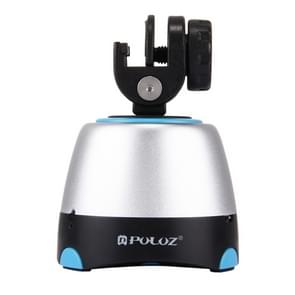PULUZ Electronic 360 Degree Rotation Panoramic Head with Remote Controller for Smartphones  GoPro  DSLR Cameras(Blue)