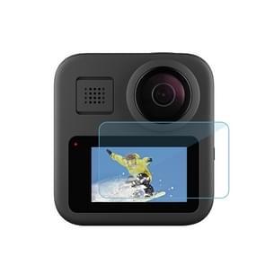 2 stuks PULUZ voor GoPro Max LCD Display Screen Protector gehard glas film