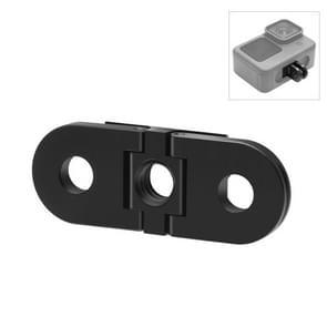 PULUZ Folding Finger Tripod Mount Adapter voor GoPro HERO9 Zwart / HERO8 Zwart / Max (Zwart)