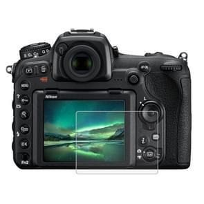 PULUZ 2.5D 9H Tempered Glass Film for Nikon D7100  Compatible with Nikon D5 / D500 / D7100 / D610 / D600 / D750 / D810 / D800 / D800E / D850 / D4S / D5200 / D5100 / P530 / P510  Fujifilm HS33 / HS35 / GFX50S / S1700 / S1770 / S2900 / S2950 / S4000 / HS20