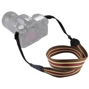 PULUZ Retro etnische stijl multi-color serie Stripe schouderband nek riem Camera voor SLR / DSLR camera's