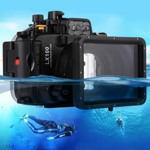 PULUZ 40m Underwater Depth Diving Case Waterproof Camera Housing for Panasonic LUMIX DMC-LX100