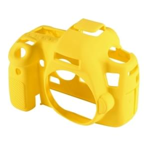 PULUZ siliconen beschermhoes bij Canon EOS 6D(Yellow)