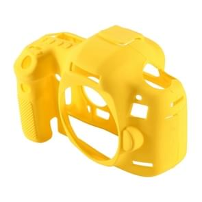 PULUZ Soft Silicone Protective Case for Canon EOS 5D Mark III (5D3)(Yellow)