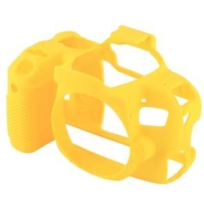 PULUZ Soft Silicone Protective Case for Canon EOS 800D(Yellow)