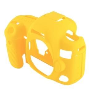 PULUZ siliconen beschermhoes voor Canon EOS 5D Mark IV(Yellow)