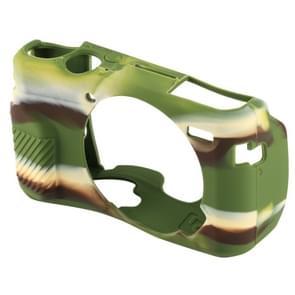 PULUZ siliconen beschermhoes voor Canon EOS G7 X Mark II(Camouflage)