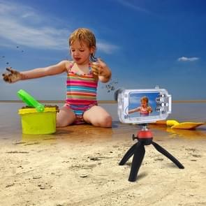 PULUZ voor iPhone 8 & 7 40m / 130ft waterdichte duiken huisvesting Foto Video nemen onderwater Cover Case(Transparent)