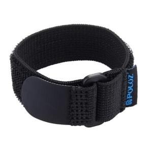 PULUZ Nylon Hand Velcro Polsband geschikt voor HERO 4/5 SESSION / (2018) 7 / 6 / 5 / 4 / 3+ / 3 / 2 / 1 en geschikt voor de SJ4000 wifi-Afstandsbediening, Lengte: 25cm.