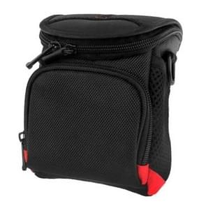 Universal Mini Digital Cloth Camera Bag with Strap  Size: 115 x 105 x 155mm