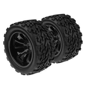 1:10 rubber spons Racing RC auto Monster Bigfoot band wiel instellen voor RC auto  4 stk in één verpakking  de prijs is voor 4 stuks