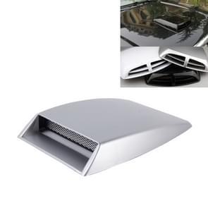Auto Turbo stijl Air Intake Bonnet primeur voor auto Decoration(Grey)