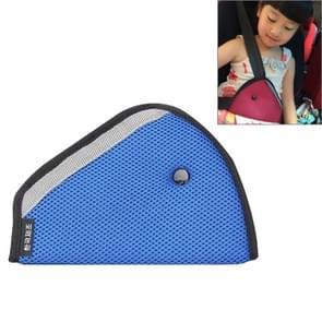 Auto veiligheidsgordel Adjuster voor kinderen  grootte: 24cm x 16.5 cm (blauw)