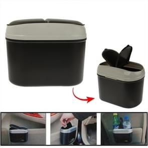 Mini auto multifunctionele Plastic vuilnisbak  willekeurige kleur levering