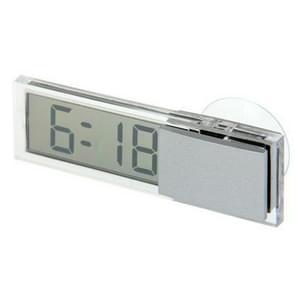 K-033 LCD automatische klok met zuignap