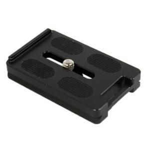 Aluminum Quick Release Plate for Tripod PL-62(Black)