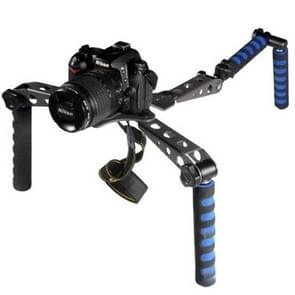 Multi-Function Shoulder Rig for DSLR Cameras(Black)