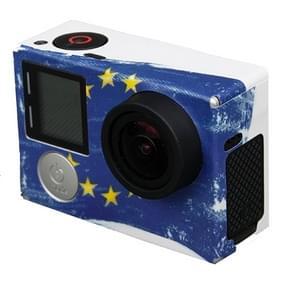TMC-EU Euro Europees patroon Sticker voor GoPro Hero4