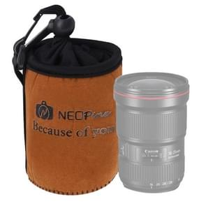 NEOpine Universal Waterproof Padded Protector Neoprene Camera Lens Bag for Canon / Nikon / Sony Cameras  Size M: 12 x 9.7cm