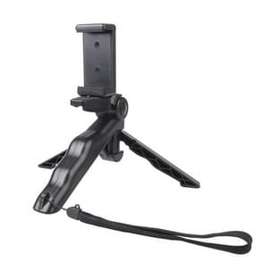 Portable Handgreep / Mini Tripod Statief Standaard met U Type Clip voor GoPro HERO 4 / 3 / 3+ / SJ4000 / SJ5000 / SJ6000 Sports DV / Digitale Camera / mobiele telefoon (zwart)