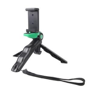 Portable Handgreep / Mini Tripod Statief Standaard met U Type Clip voor GoPro HERO 4 / 3 / 3+ / SJ4000 / SJ5000 / SJ6000 Sports DV / Digitale Camera / mobiele telefoon (groen)